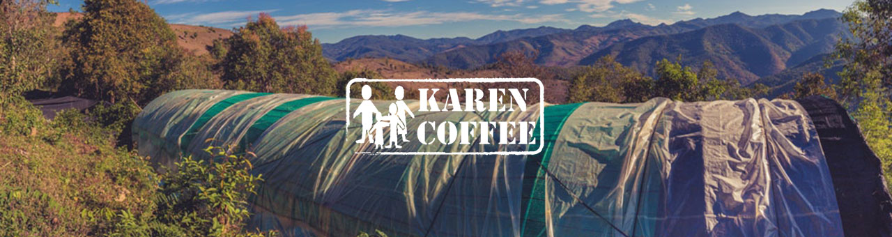 Karen coffee at dusk